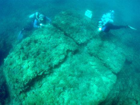 אתר צלילה ארכיאולוגי תת ימי