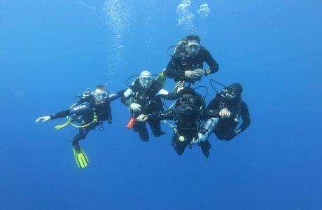 קורס שלושה כוכבים ספורטיבי Master Diver