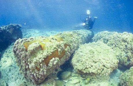 אתר צלילה ארכיאולוגי תת ימי – מסלול א