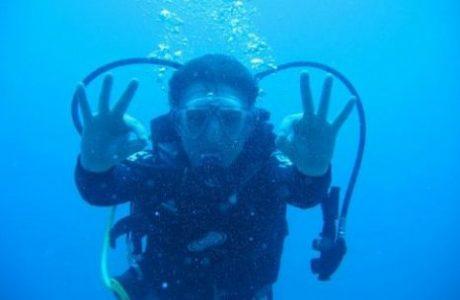 קורס צלילה כוכב אחד – Open Water Diver